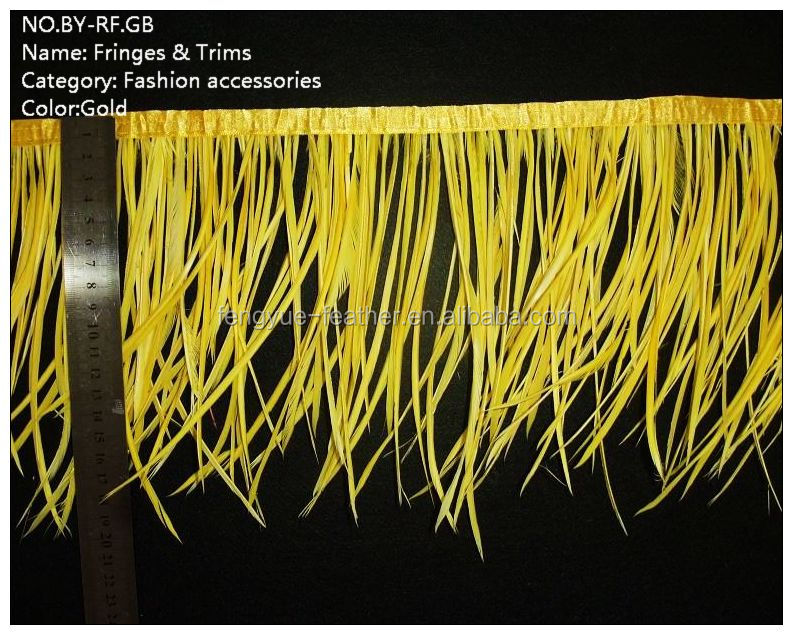 Attractive style Ostrich feather fringes and trims