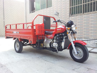 Boosting Rear Axle Water Cooled Engine 250CC Three Wheel Motor Tricycle
