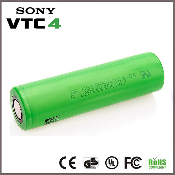 2017 newest se us18650 battery 2100mah 30A vtc4 3.7v rechargeable li-ion battery cell for vape mod