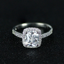 2018 new arrival Wholesale High Quality MOONSO Rings Colored O Rings Diamond Engagement Ring AR466S
