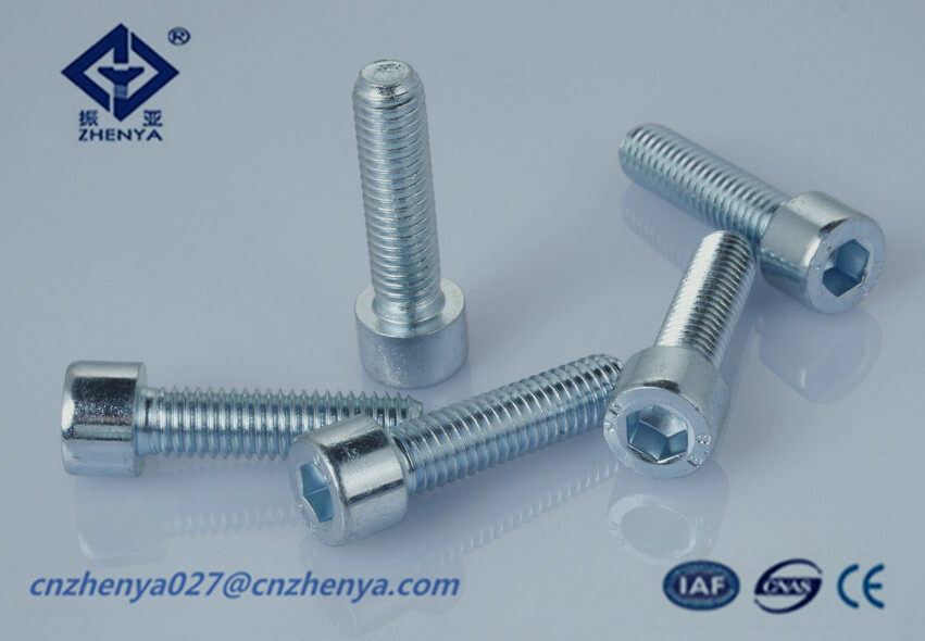 stainless steel hex socket head cap bolt,DIN912,GB70 made in china,fastener manufacturer