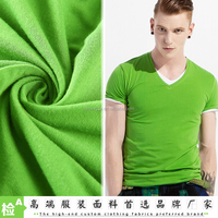 Textiles fabric Manufacturer crease resistance 40S Mercerized knitting 100% single jersey fabric cotton