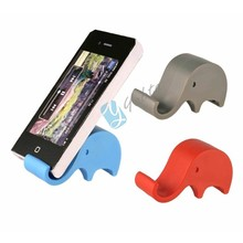 Stand Accessories Elephant Shaped Silicone Mobile Phone Holder Stand