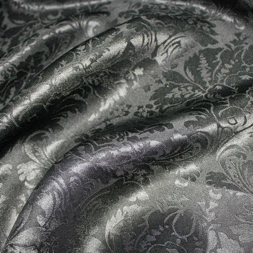Factory Sell Retro Fabric Silk Jacquard by the Yard From Silk Manufacturers