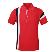 High Quality 100% Cotton Slim Combination Colors Men Polo shirt