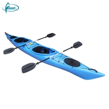 Original Design PE glass boat plastic kayak for two person