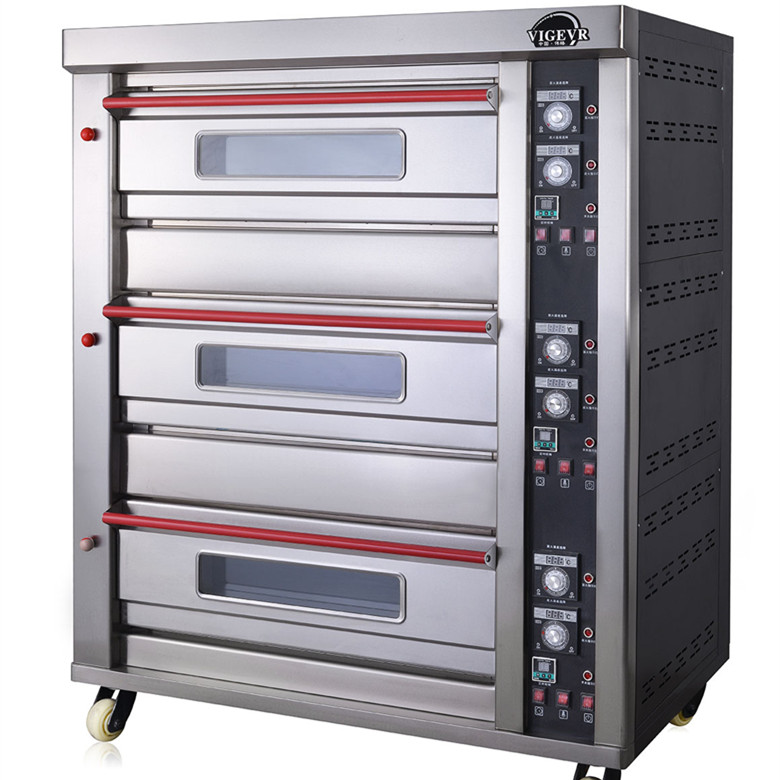 Commercial 8 trays pizza bread Oven Roaster Bakery Oven Used Gas Chapati Oven