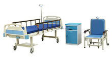 Bossay Medical Equipment BS-818 One Function Hospital Used Manual Bed