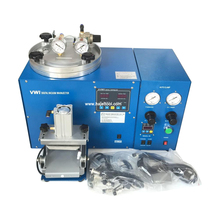 high quality digital wax injection machines vacuum wax injector silver casting machine