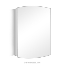 China supplier polishing stainless steel bathroom mirror cabinet 7026