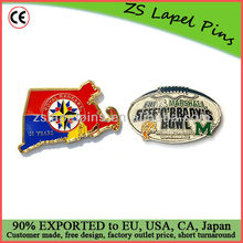 High Quality Custom Metal Gold Lapel Pin Badge