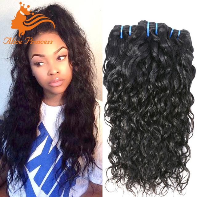 10A Grade Peruvian Hair Water Wave Human Hair Beyonce Weaving