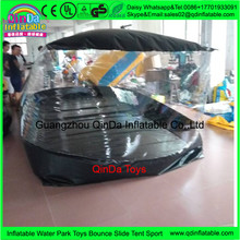 PVC Inflatable car cover,transparent inflatable dustproof cover for Exhibition