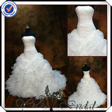 TT0501 east bridal wedding dress in cream color