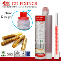 Double tubes mixing concrete chemical sealant epoxy resin system