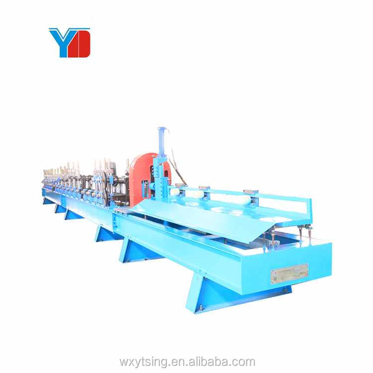 YTSING- YD-4740 Passed CE & ISO Square Tube Slotted Making Machine Steel Square Pipe Roll Forming Machine