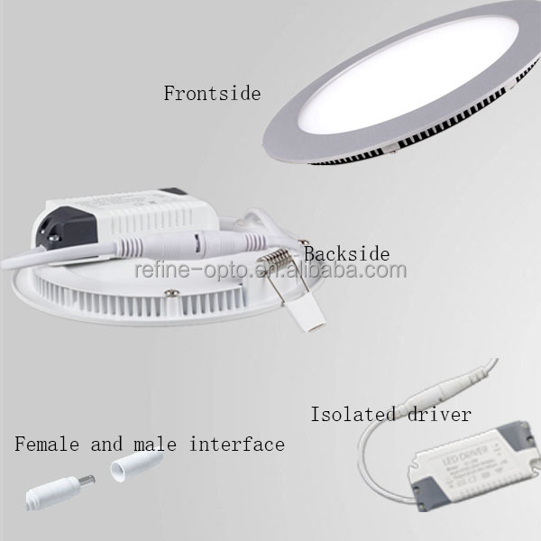 24w CE & RoHS global certificate driver smd office ceiling light led light downlight