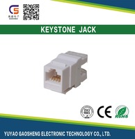 Online Shopping Free Samples Network Telecom part RJ45 CAT.5e Cat.6 Female Module/Keystone jack RJ45 connector RJ45 socket