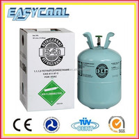 Gas Refrigerant R134a Auto air conditioning R134a Refrigerant 30lbs Used Cars in commercial and industrial