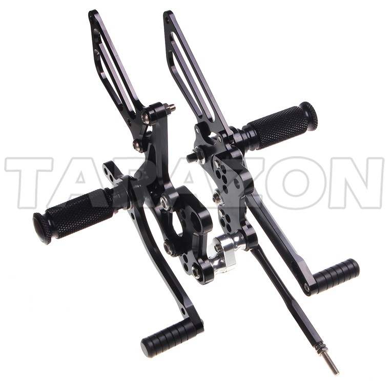 CNC Adjustable Motorcycle Rear Set rearsets For Sportbike Suzuki