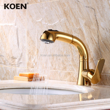 tapware pull out brass bathroom faucets hot cold water mixer tap