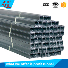 Lianbiao high quality galvanized steel electrical wire network trough type customized size cable channel support system