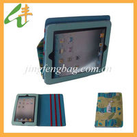 10'' leather cartoon case for tablet