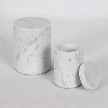 factory directly sale marble yellow kitchen canisters