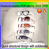 Acrylic Eyeglasses Display,Perspex Spectacle Display,Lucite Sunglasses Stand