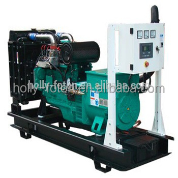 Low consumption 100KW biogas generator / natural gas generator / methane gas generator with CHP