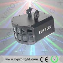 German spot lights led bulb import led double butterfly disco lighting/ led light for disco ktv