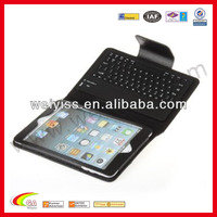 Case for ipad with bluetooth keyboard,waterproof leather case