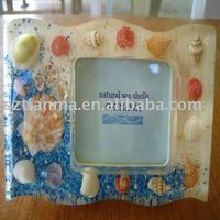 Funny polyresin photo frames for miniature decoration