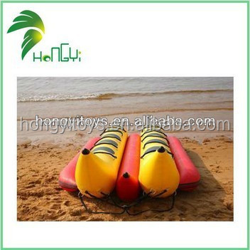 Top Peformance Exquisite Workmanship Inflatable Boat Water Game Banana Boat