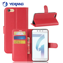 Business Style Wallet Stand PU Leather Flip Case for OPPO A71 Hot Sale on Alibaba