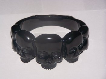 Carved Bakelite Bangles and Bracelets