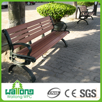 Alibaba hot selling resistance rot wpc bench cheap outdoor plastic chairs