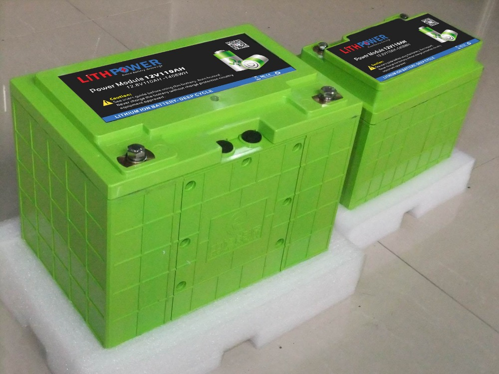 deep cycle power wind/sollar 12V 100ah lithium ion battery
