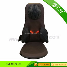 Air pillow and air pump Neck and shoulder massage pad/cushion for back with heating and vibrating
