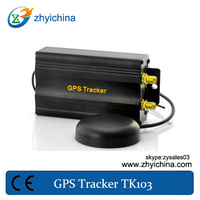 easy install car gps tracking system tk103 + one year online tracking service