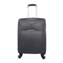 Hot selling fancy royal polo spinner luggage trolley case soft suitcase