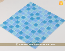 Mosaic Swimming Pool Tile,Blue Color Mosaic,Piscina De Mosaico