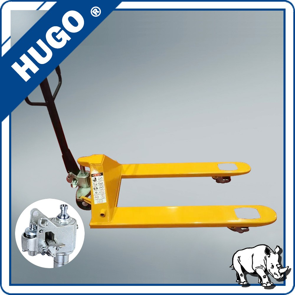 hydraulic pump hand pallet truck 8 meters single mast aluminum lift table
