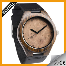 2015 charming natural wholesale wood watch vogue wrist watch for unisex