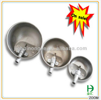 pig farm equipment round water trough cheap price stainless steel pet water bowl travel