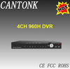 Factory price H.264 4CH 960H DVR HDMI output CCTV DVR made in China