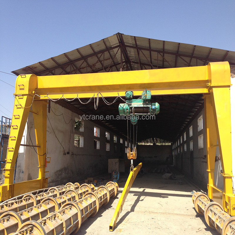 2017 Latest small gantry crane 10 ton