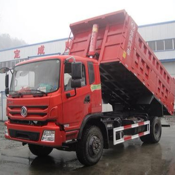 China HOT SALES USED DONGFENG small dump truck with competitive price for sale