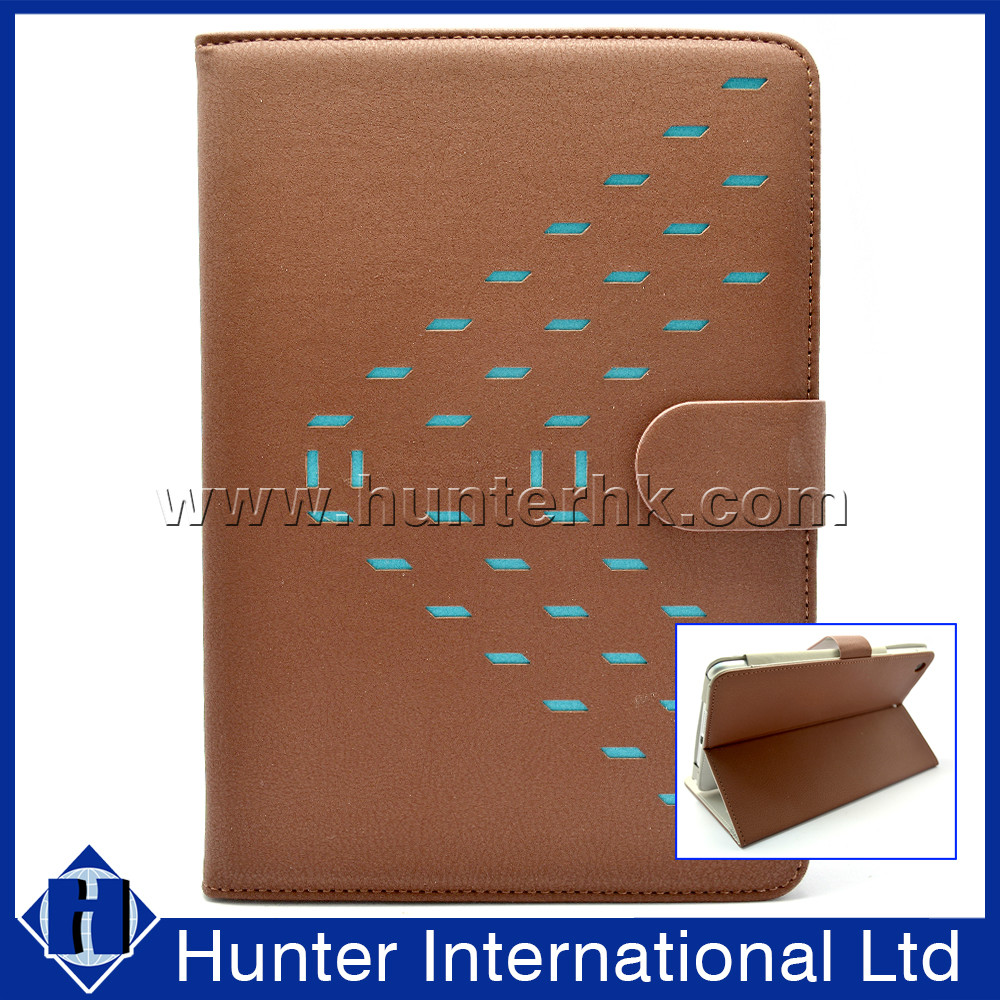 PU Leather Material Holder Tablet Case For iPad Mini 4