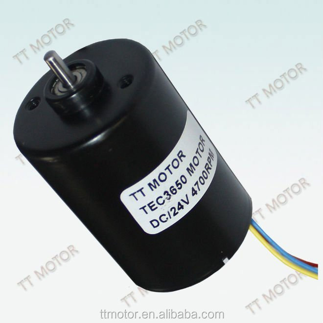 540 motor of 24v brushless motor